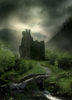 Castle Stock by wyldraven