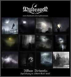 WyldravenArt Album Artworks by wyldraven
