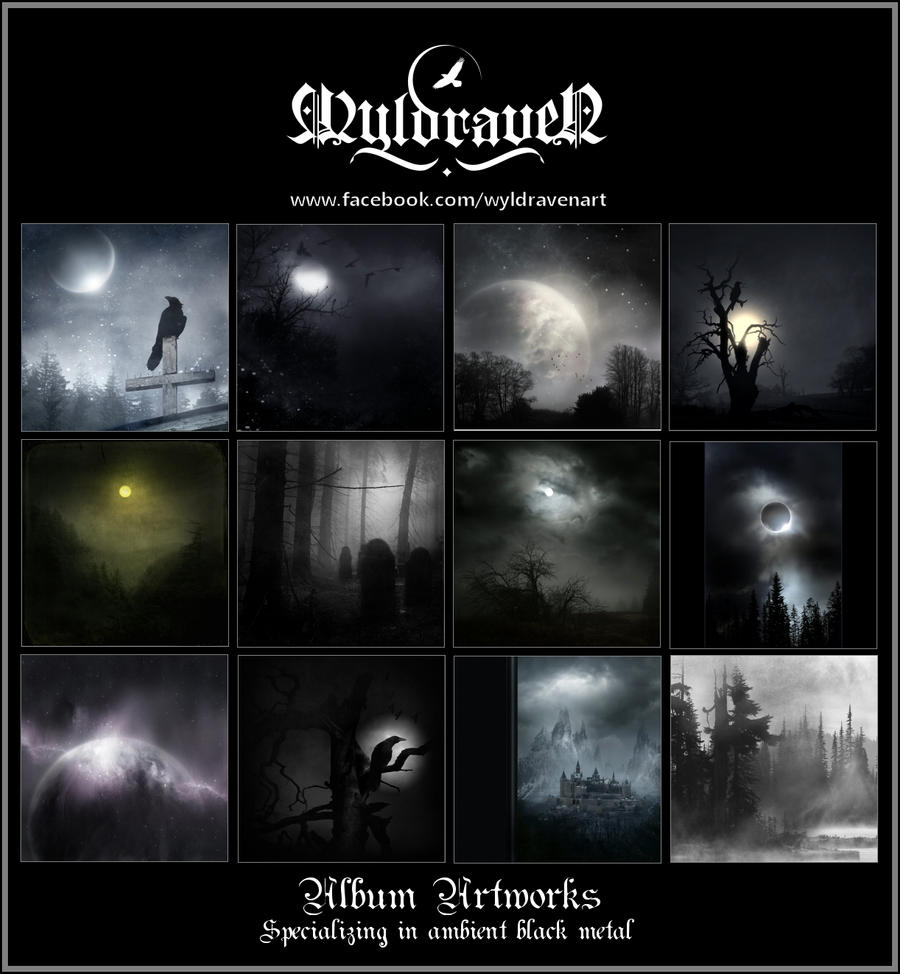 WyldravenArt Album Artworks by wyldraven