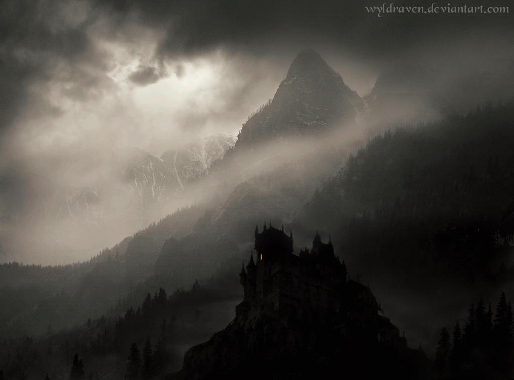 Castelul Dracul by wyldraven