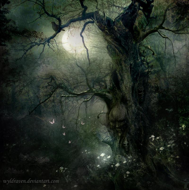 Oaken Spirit by wyldraven