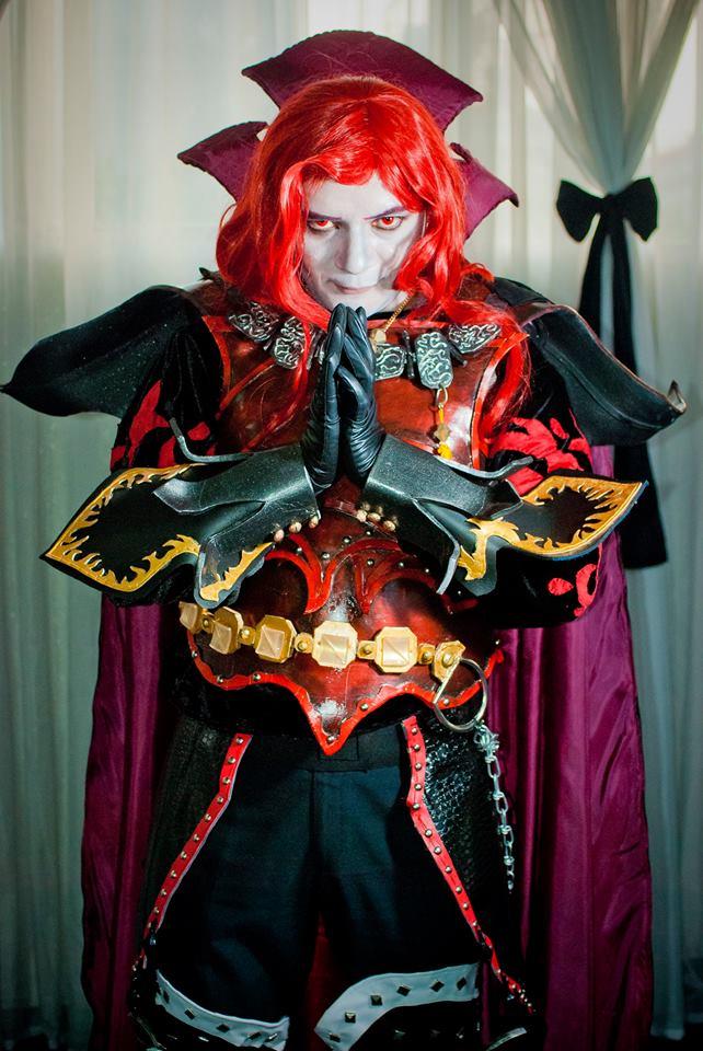 Red Vampire by cerezosdecamus