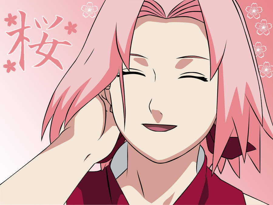 Haruno Sakura  vector by CrazyAngel88 on DeviantArt