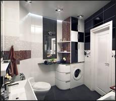 Bathroom interior by doubleagent2005