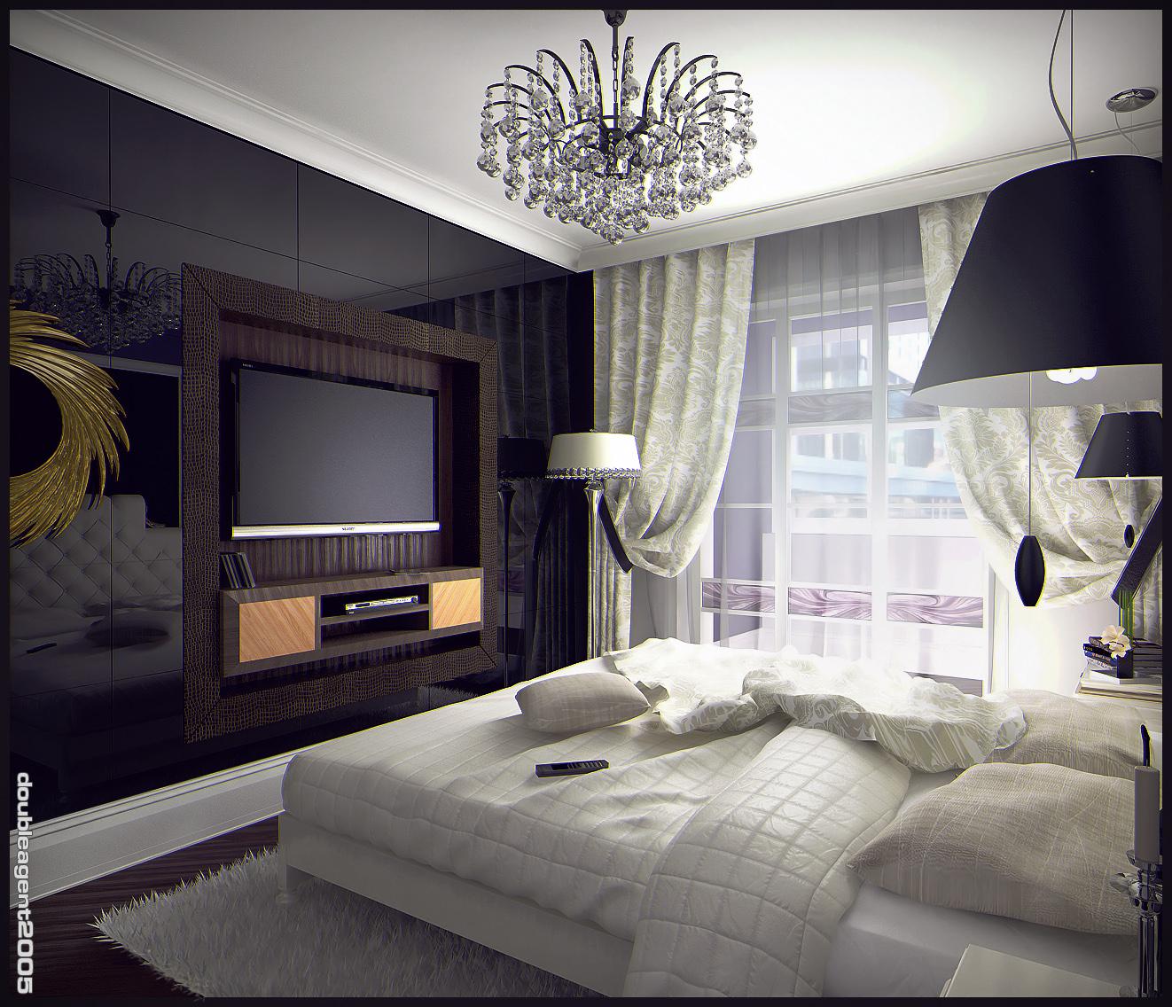 Bedroom interior, view 2