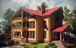 Log house - FINAL. View 1