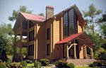 Log house - FINAL. View 2