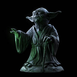 Yoda Sculpture by doubleagent2005