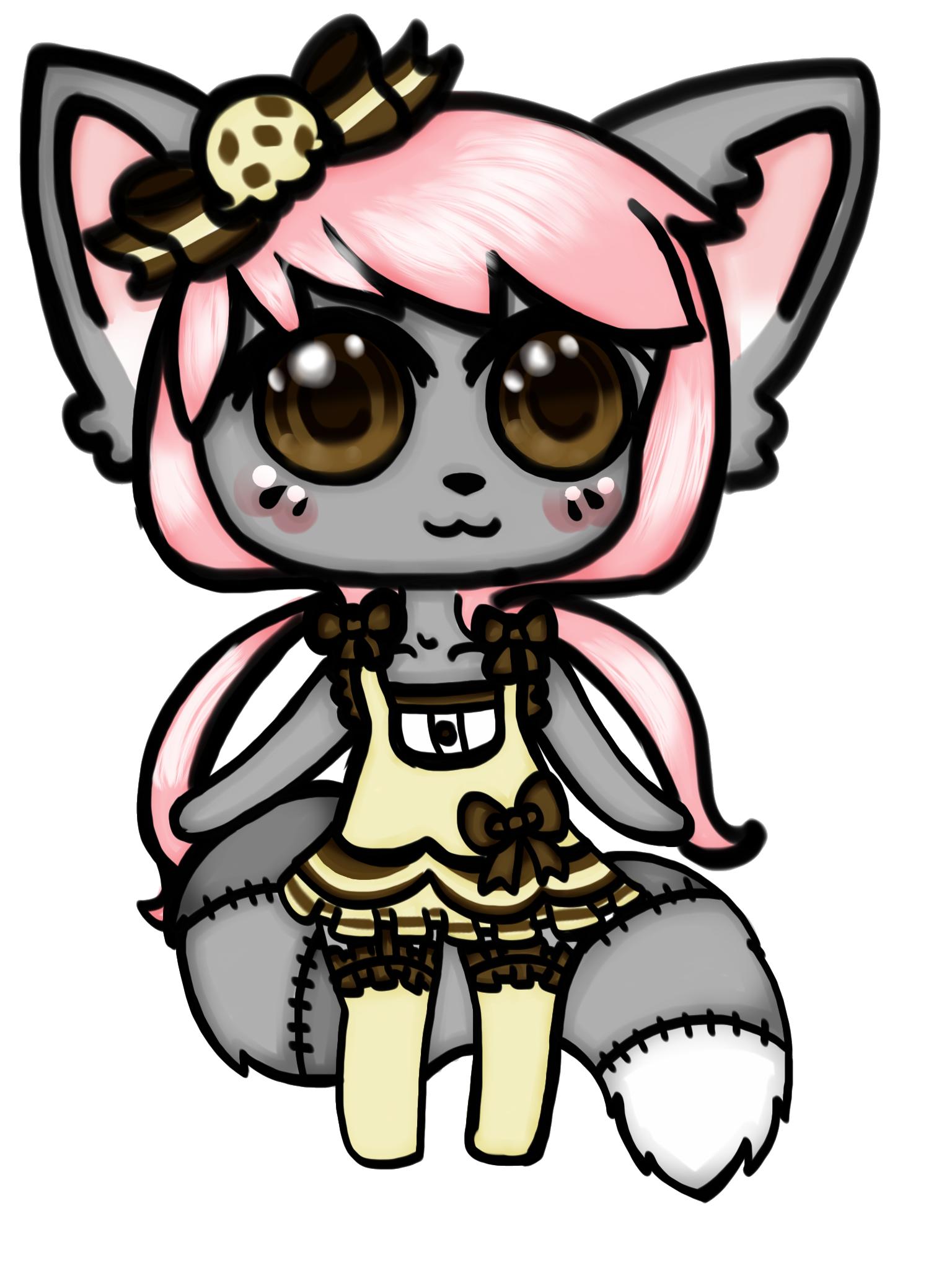 Little Miss Choco Chip by TinyFurrTails