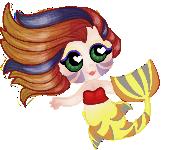 :Baby Pixel: Mermaid by TinyFurrTails