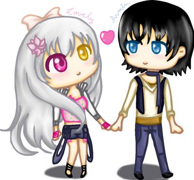 Lovely' et Armin by Rytsuko