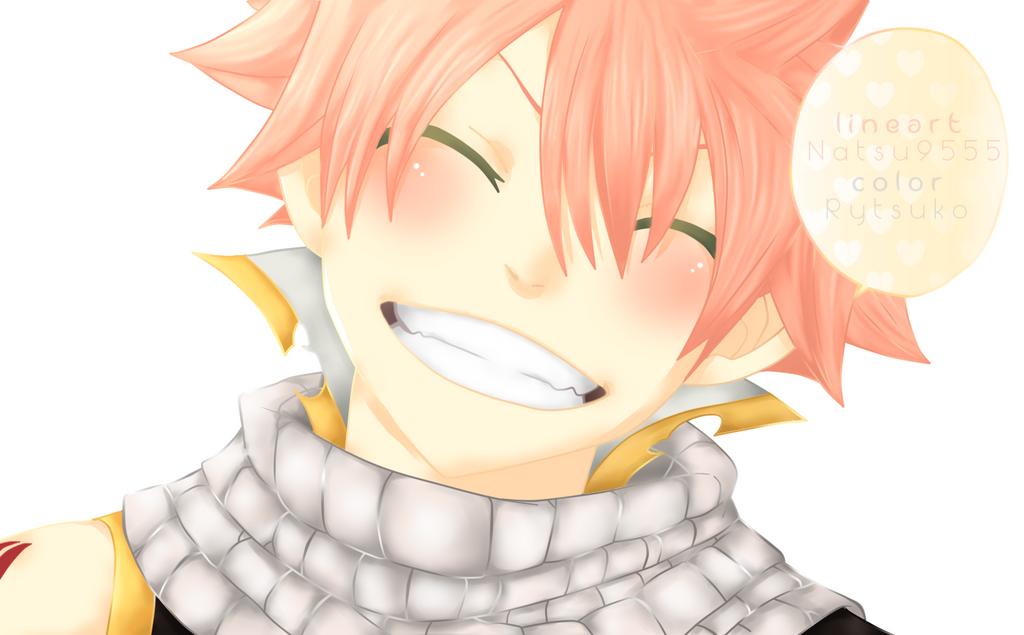 Natsu smiling - Chapter 297 by Rytsuko