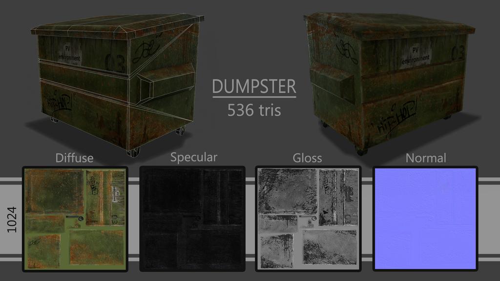 Dumpster by Jemura42