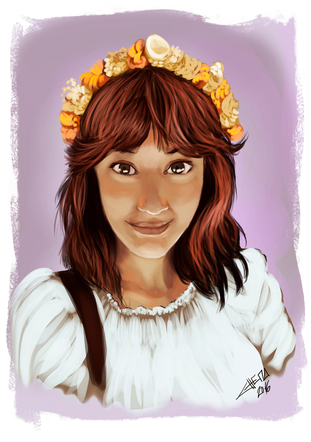 Fast Paint Portrait by ChemaIllustration