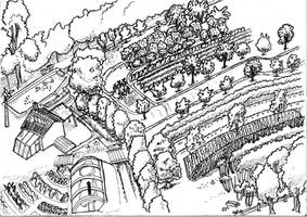 Permaculture Design by ChemaIllustration