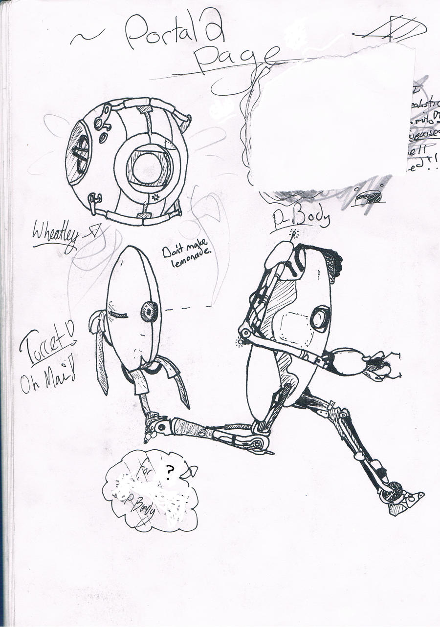 Portal 2 Robots 294581410 in addition Random Sketch 427427140 as well John Deere 116 Parts List furthermore 534943261966481393 additionally Ask Yandere Chan. on it isnt as bad looks