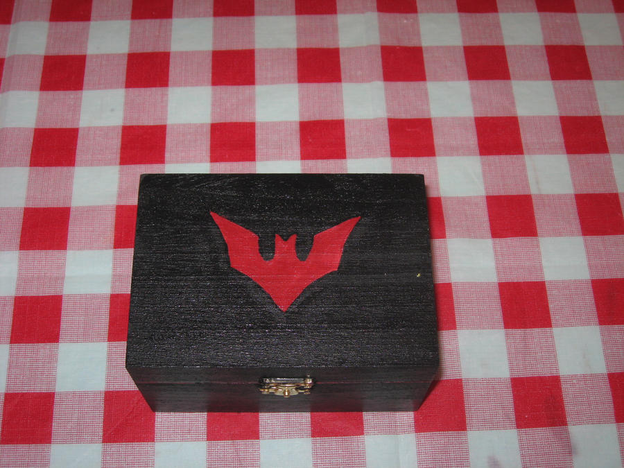 Batwoman or Batman Jewelry Box by RainbowBite on DeviantArt