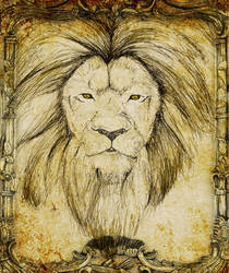 Wlid Lion by Arery