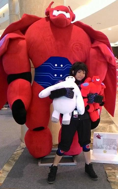 Hiro and Baymax Cosplay by YuukiKuranPrincess