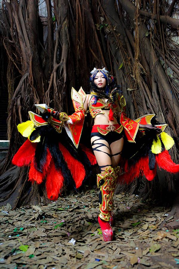 Akasha the Queen of Pain by YuukiKuranPrincess