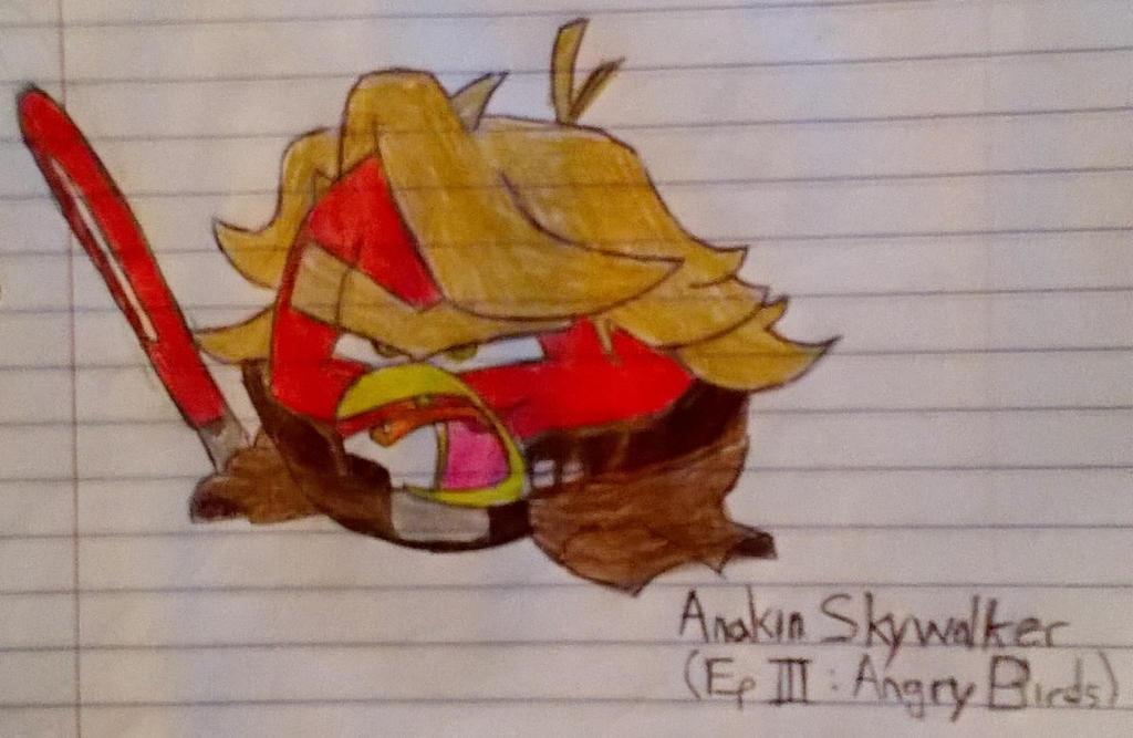ANAKIN SKYWALKER EP3 ANGRY BIRDS STAR WARS by TShiftz on