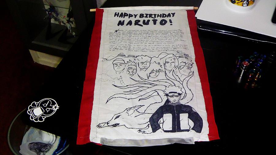 Naruto Birthday Cardscroll By Chubbyasianlove On Deviantart
