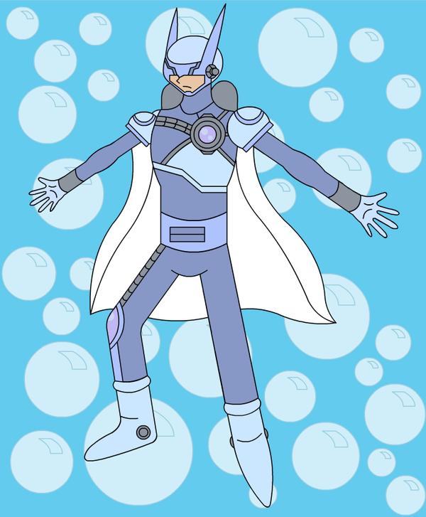 Living Suit of Bubbleman 2 by LiquidPhazon