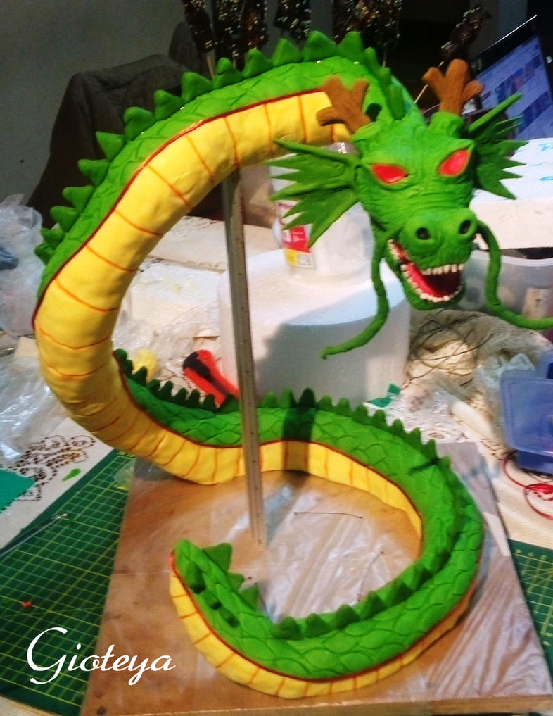 How To Make A D Dragon Cake