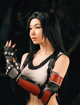 Tifa Lockhart from Final Fantasy VII remake
