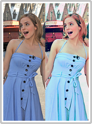 Emma Watson Coloring by lindsaaaay