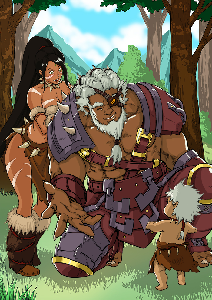League of Legend Rengar and nidalee(human form) by