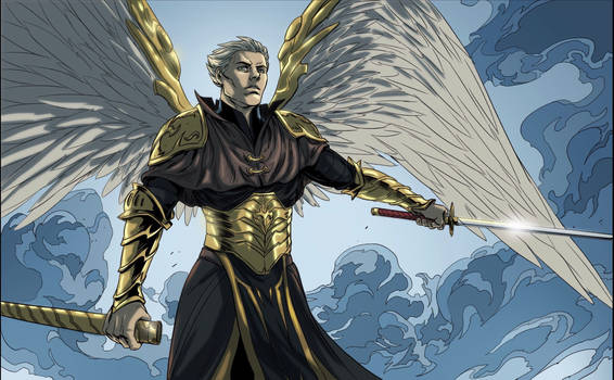 Riguel the Archangel of Vengeance!