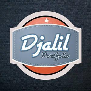 Portfolio Retro Logo
