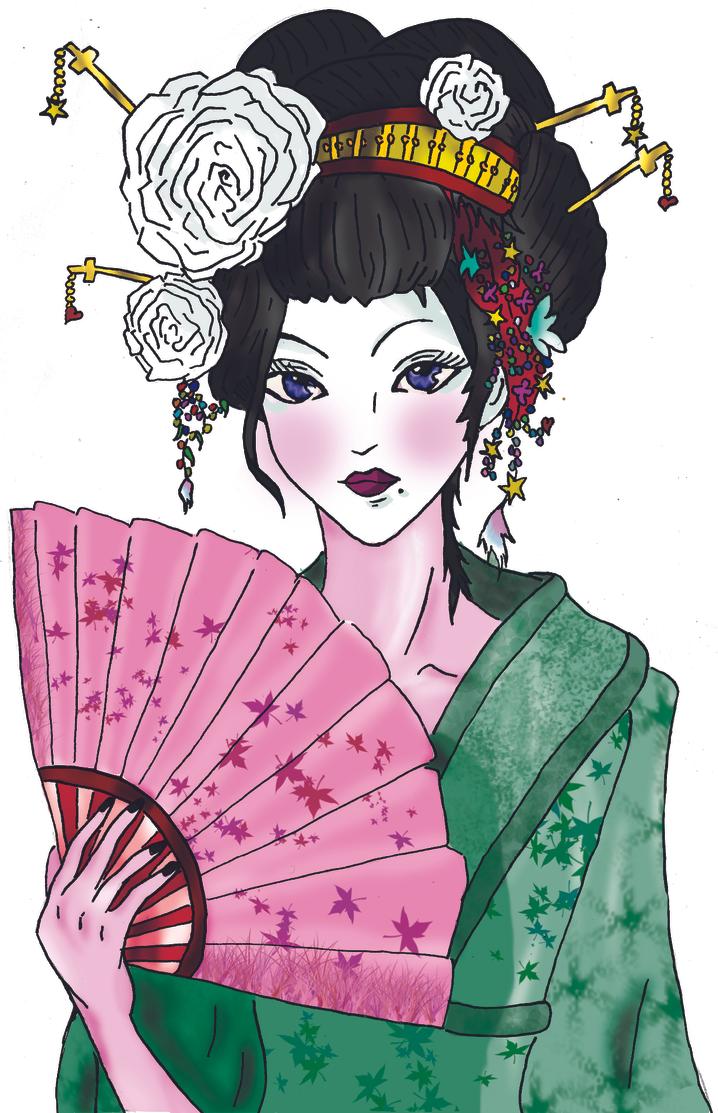 Geisha by HellDolly