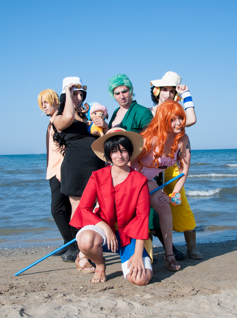 Straw Hat Pirates by HellDolly