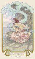 THE WELL Tarot Card