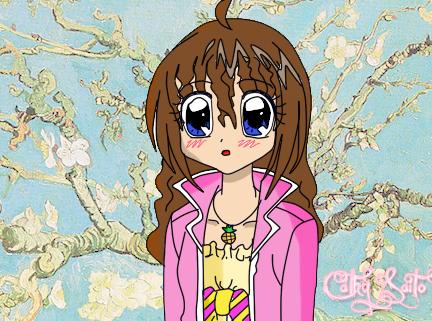 Cathy Saito Cherry Blossom by AkariKirari