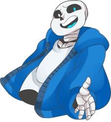 Sans by Rosie-Monster
