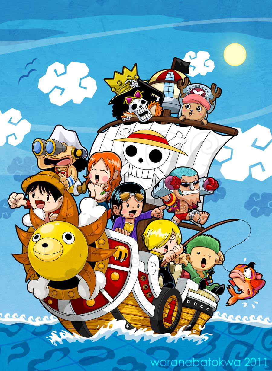 One Piece The Sunny Crew By Waranabatokwa
