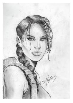 Lara Croft sketch