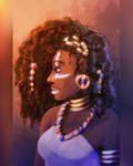 Ayira Portrait by SophiePf