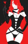 Jean Grey (Phoenix) as Dark Queen