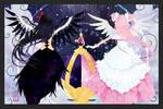 Madoka and Homura poster