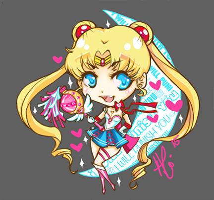 BDSM Sailor moon Charm by Angrypanda-Gin