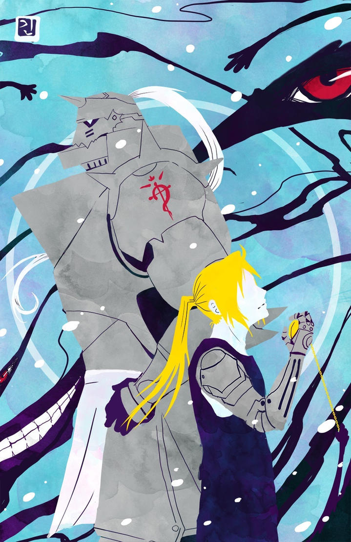 Full metal alchemist poster by Angrypanda-Gin