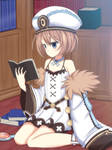 Blanc Staying at Home by maxibillity