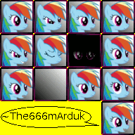 RainbowDashFaceset beta by The-mArduk