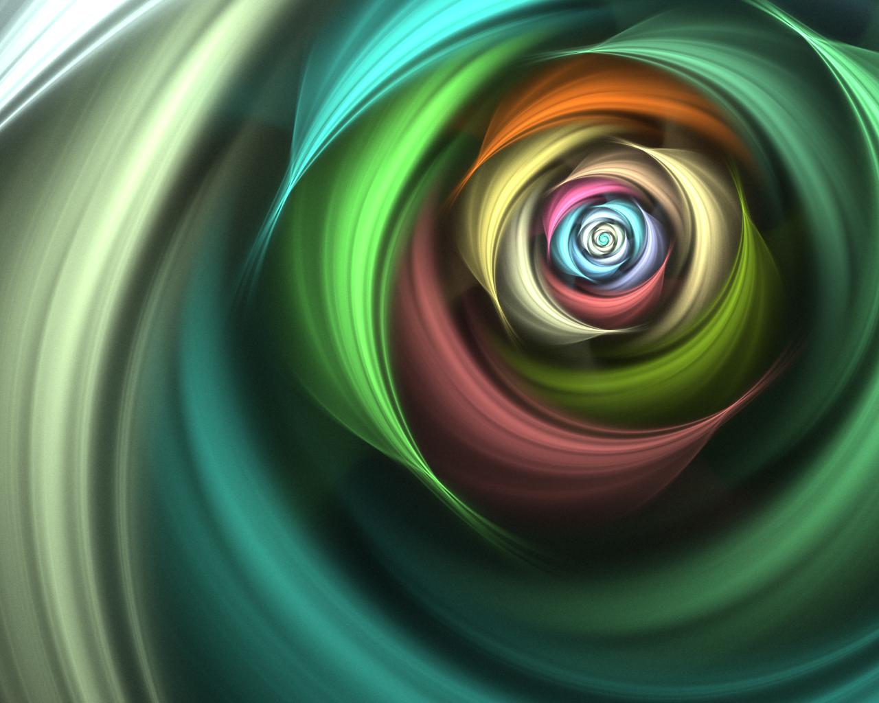 spiral rainbow - photo #42