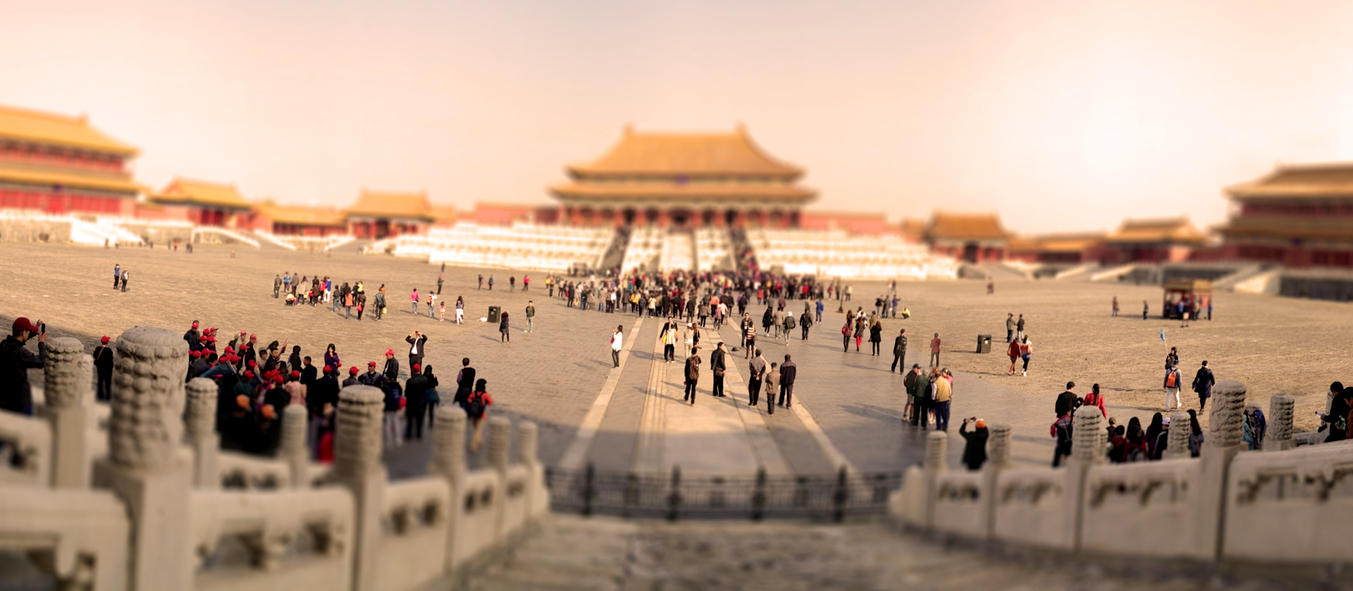 Tiltshift - Forbidden City by SaTaNiA