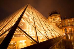 Paris by night :  Louvre II